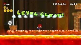 Newer Super Mario Bros Wii World 8-8 Eruption Crater