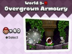 Overgrown armoury