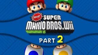 Newer Super Mario Bros. Wii - WALKTHROUGH - Part 2 (Switches and secrets)-0