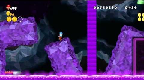 Newer Super Mario Bros Wii World 9-8 Purple Sewer