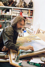 John howe working