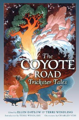File:The Coyote Road- Trickster Tales (Mythic Fiction