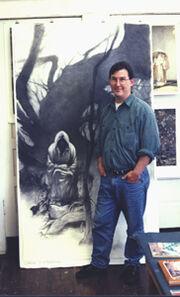 Charles Vess-studio 1994