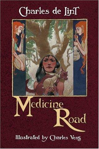 File:Hardcover-Medicine Road (Newford -14) by Charles de Lint, Charles Vess.jpg