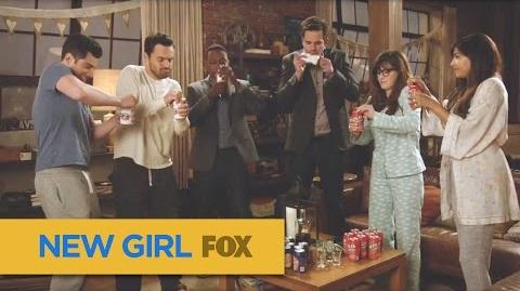 "NEW GIRL True American First lady Edition from ""Wedding Eve"" FOX BROADCASTING"