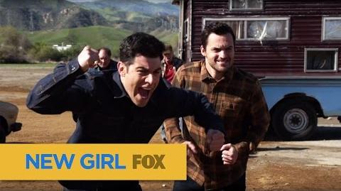 "NEW GIRL Get Ready To Rumble from ""Road Trip"" FOX BROADCASTING"