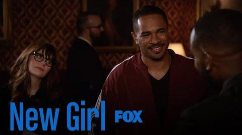 Coach Arrives At Furguson's Memorial Season 7 Ep. 4 New Girl