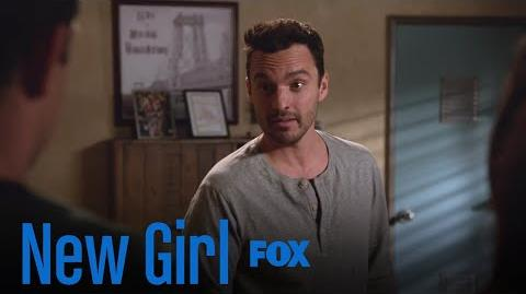 Nick Secretly Asks The Gang To Pretend To Care Season 7 Ep. 8 New Girl
