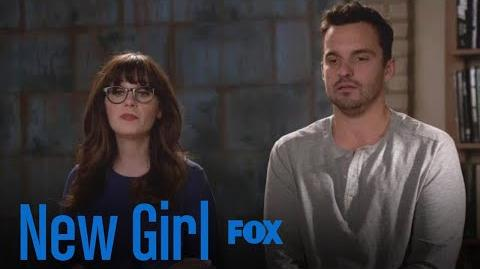 Jess & Nick Share Big News With The Gang Season 7 Ep. 8 New Girl