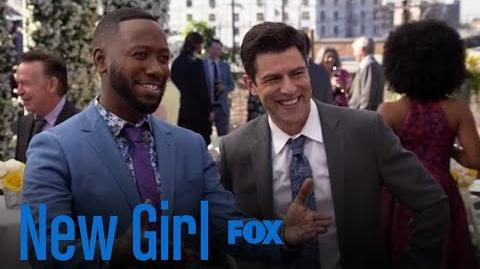 The Guys Mingle With Wedding Guests Season 7 Ep. 7 New Girl