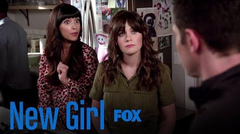 Jess, Cece, & Schmidt Flashback To The Previous Birthday Parties Season 7 Ep. 1 New Girl
