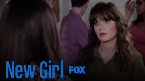 Jess Comes Back With A Nose Ring & Neck Tattoo Season 7 Ep. 1 New Girl