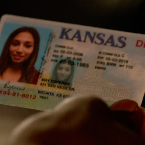 May's driver's license