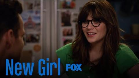 Nick & Jess Chat About Her New Job Season 7 Ep. 2 New Girl