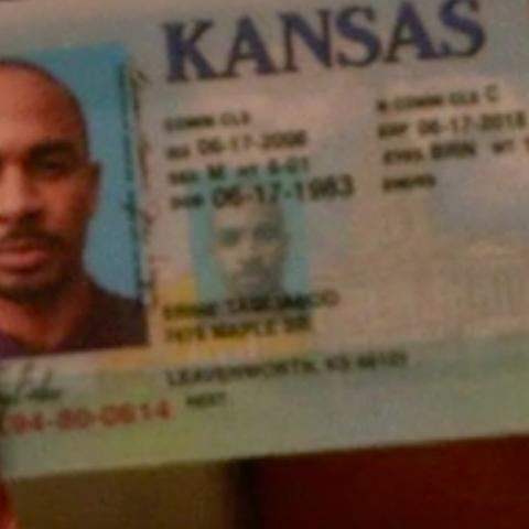 Coach's driver's license