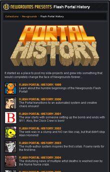 Flash Portal History