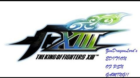 KOFXIII Zim2k9 PSN Arcade Final ZDL's PSN also the GamePlay