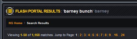 Barney removed