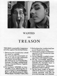 Wanted for treason
