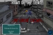 Road of the Dead Title Screen