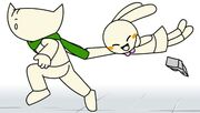 Nabi Runs with Doki
