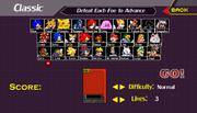 Super Smash Flash Characters