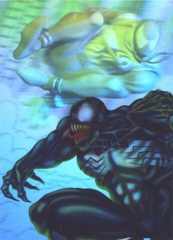 File:Scarlet Spider chases Venom through the timestream.jpg