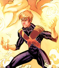 Human torch (Amazing Exiles)