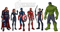 The whedon avengers the animated series by 3davalon-d4rclif