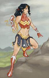 Wonder Woman (Venom's Exiles)