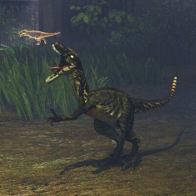 Primal Carnage Thunderstruck Novaraptor