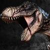 Primal Carnage Battle Scarred T-Rex logo 1