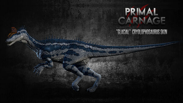 Glacial Cryolophosaurus