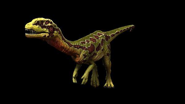 Toxic Jungle Dilophosaurus