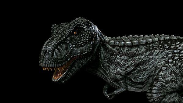 Obsidian Tyrannosaurus