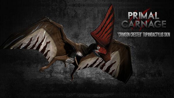 Crimson Crested Tupandactylus
