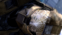 York broken helmet