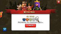 War clash