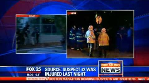 Fox News Boston Suspect Witness' Videos; News; Final Arresting Moment