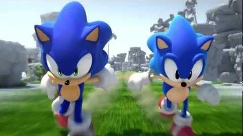 SONIC Escape from the City ~Classic Remix~ (Music Video) With Lyrics