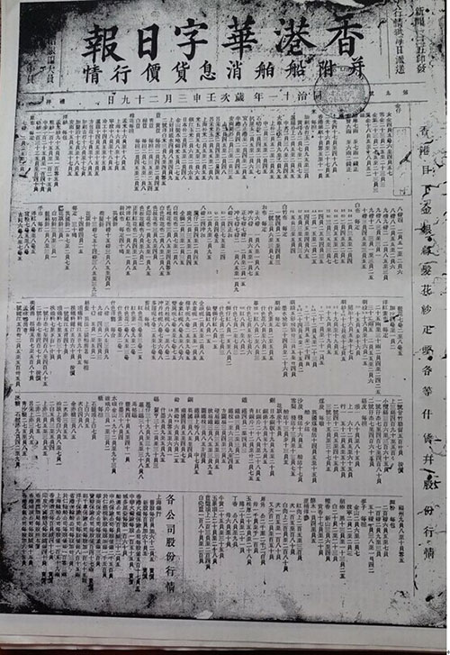 香港华字日报 1872-05-06 P1