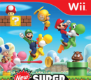 New super mario bros wii Wiki