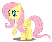 Fluttershy vector by kitty ham-d3i8bt7