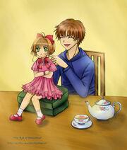 The Age Sakura and Syaoran by wishluv