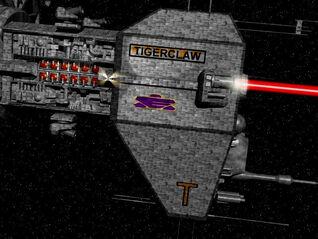 Particle laser