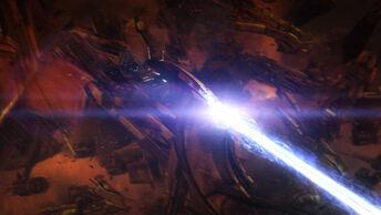 Thanix firing