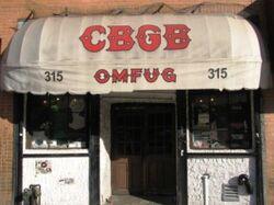CBGB – Front