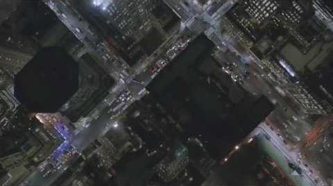 Aerial Footage of New York Night 4K HD