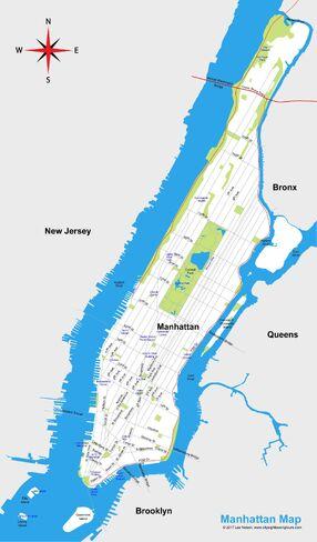 Manhattan-Map