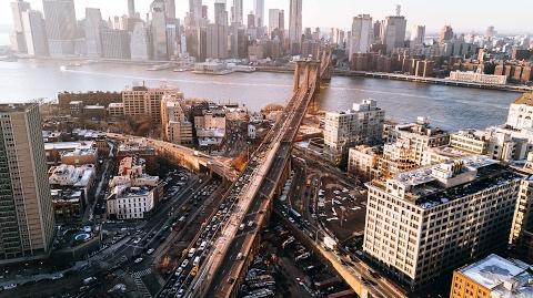 Mavic Pro New York City. Shot In 4K.